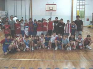 Mlada selekcija košarkaškog kluba Cerak